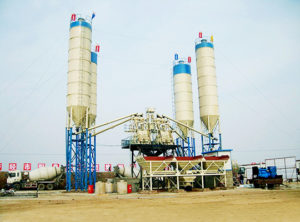 2HZS50 Planta De Concreto Estacionaria Con Dos Mezlcadoras