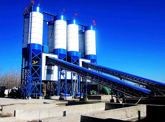 Una Planta De Concreto Premezclado Para Producir Concreto De Alta Calidad