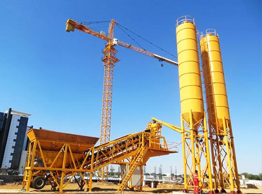 Aimix YHZS35 Planta Móvil Concreto Con Mejor Calidad