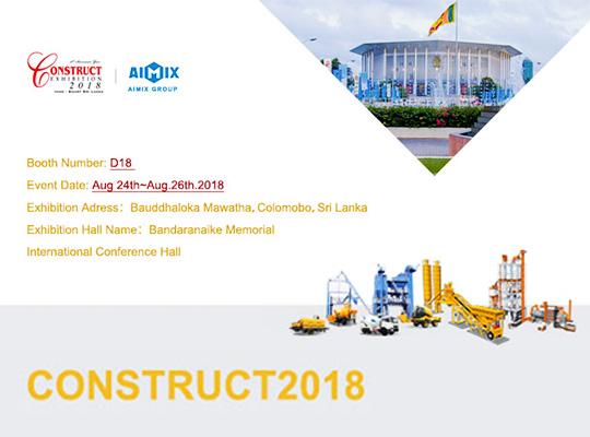 Una Gran Exposición De Construcción En Sri Lanka