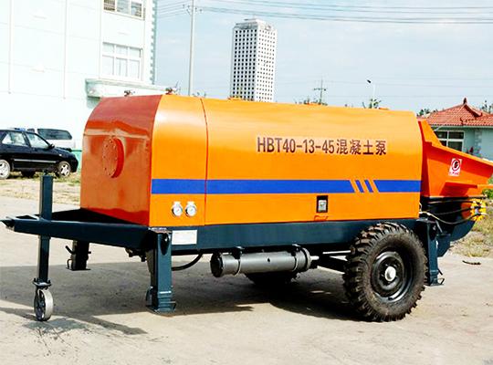 Maquinaria De Bombear Concreto De Modelo HBT40 En Aimix Grupo
