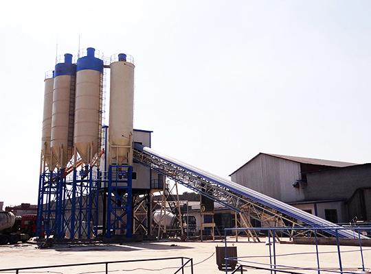 AIMIX Planta De Concreto Semiautomática De Modelo AJ-120