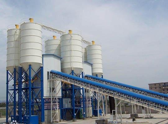 Una Planta De Concreto Con Una Capacidad De 180m3/h