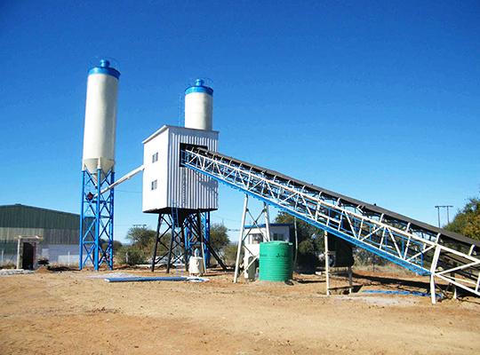 AJ-60 Planta De Concreto Premezclado Para La Fabricación De Concreto