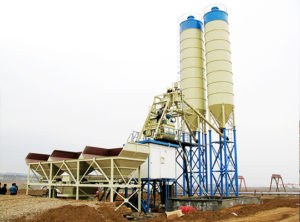 Venta De AJ-ZS-75 Semiautomática Planta Para Concreto