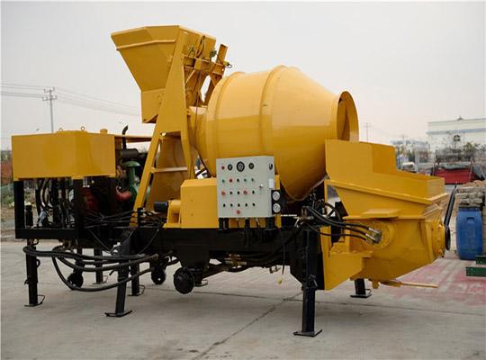 Máquina De mezcla Y Bombeo De concreto
