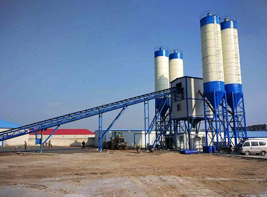 Una Planta De Concreto De Capacidad De 90m3/h Para La Venta