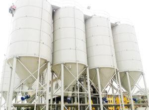 Aimix 100 Ton Silo Trabaja En Muchos Países Y Regiones