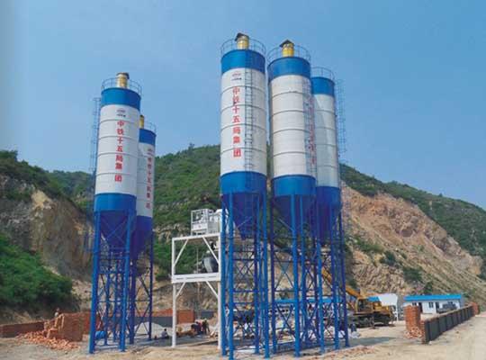 AIMIX Silo Para Cemento Para Planta De Concreto Con Rendimiento Confiable