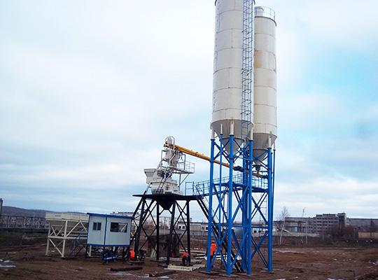 Venta De AJ-35 Semiautomática Planta De Concreto Con Mejor Calidad