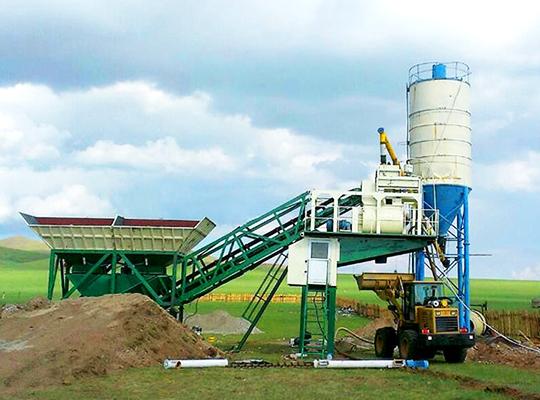 Venta De AIMIX Planta De Concreto Móvil De Modelo AJY-25