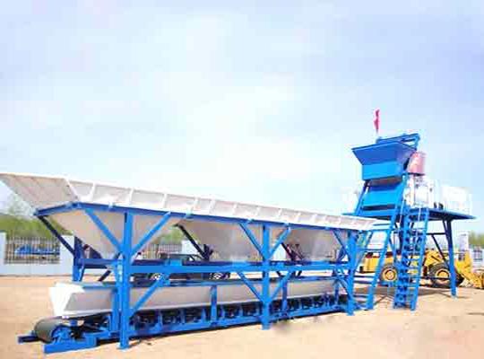 Planta De Concreto Móvil De Capacidad De 75 m3/h