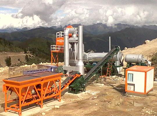ALT80 Planta De Asfalto Continua