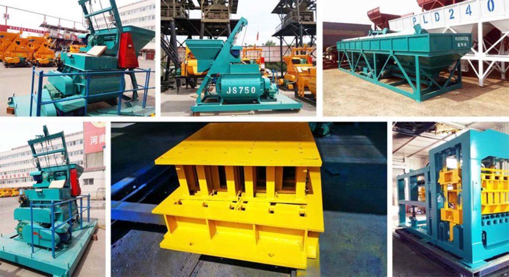 Entrega De Máquinas De Fabricación De Ladrillos A Australia