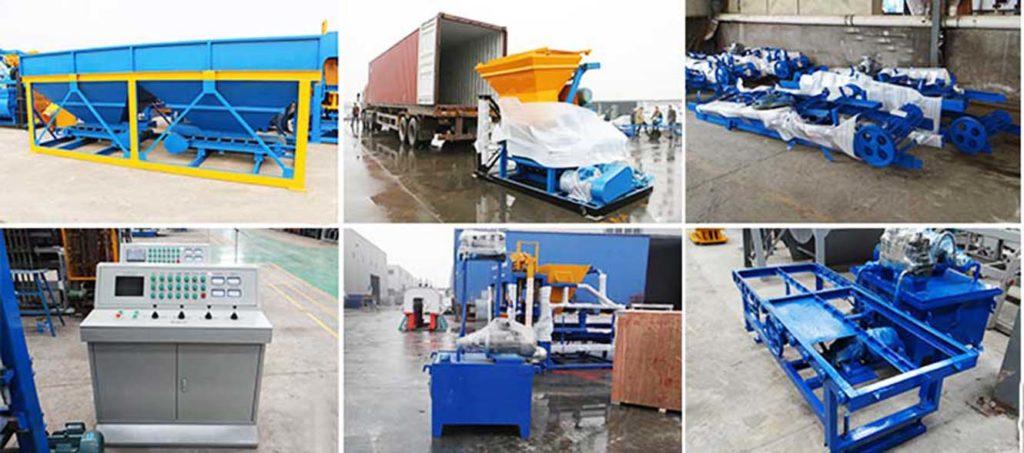 Exportando AIMIX Máquina Hacer Bloques A USA