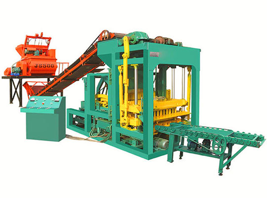 ABM-4SE Máquina Para Fabricar Block