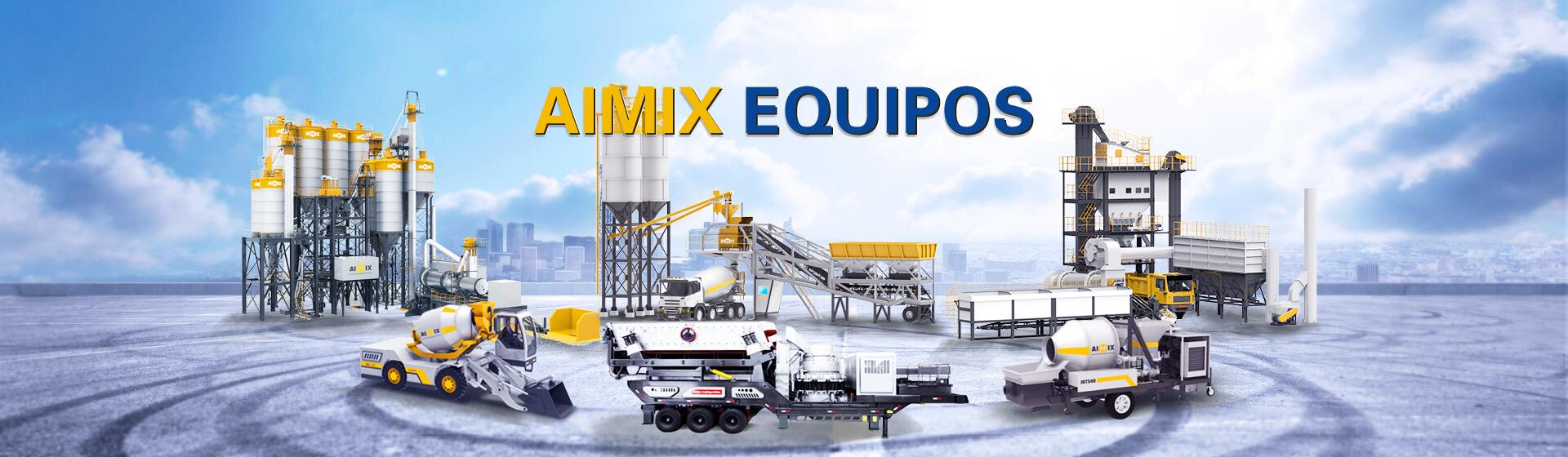 AIMIX Ofrece Muchos Diferentes tipos De Maquinaria De Construcción