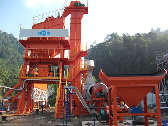 Planta de Asfalto Estacionaria En AIMIX