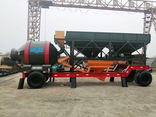 AIMIX Nuevo Tipo De Planta De Concreto Móvil En Venta