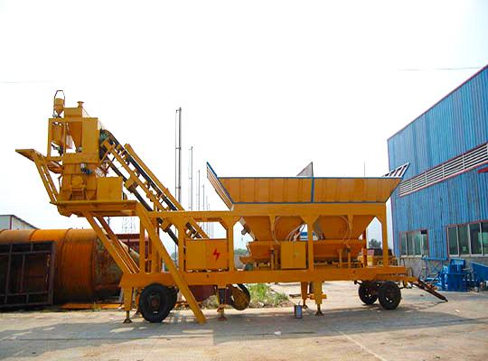 AIMIX Planta Dosificadora De Concreto Portátil En Venta