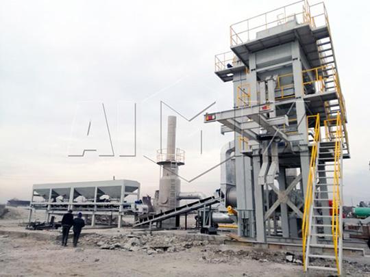 AIMIX Planta De Asfalto Exportada A Tayikistán