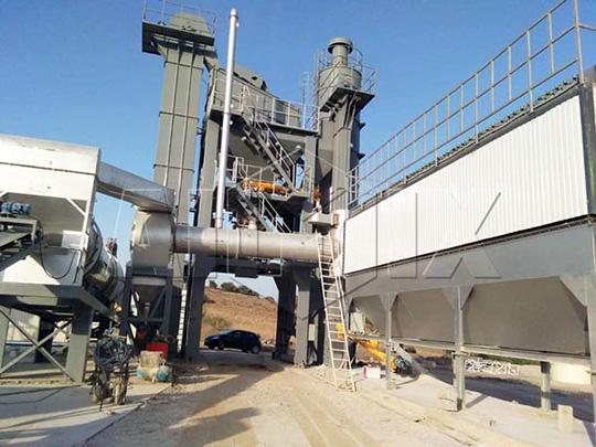 AIMIX Planta De asfalto En Argelia