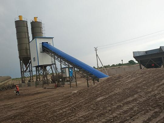AIMIX Planta De Concreto Exportada A Uzbekistán