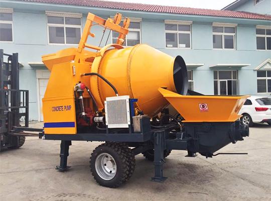 Maquinaria De Mezcla Y Transporte De Concreto