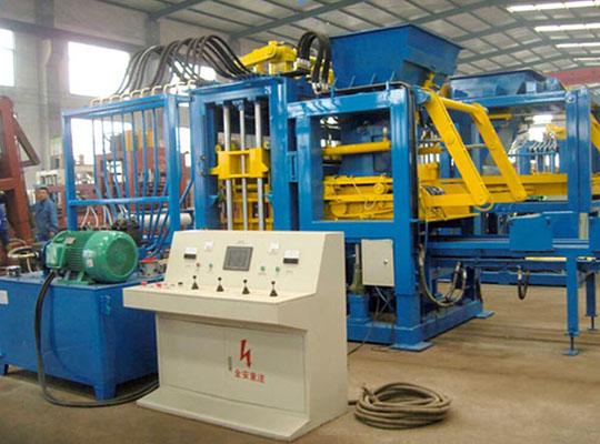 Máquina Bloquera Automática Hidráulica