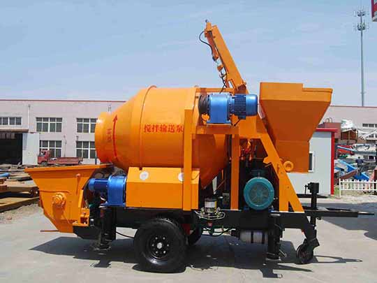 AIMIX Bomba Mezcladora De Concreto Diésel
