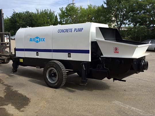 AIMIX ABT60D Bomba Estacionaria De Concreto Eléctrica