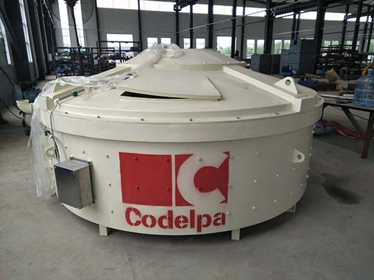 AIMIX Máquina Mezcladora Planetaria De Concreto Exportada A Dominica