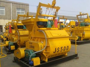 Mezcaldora De Concreto Eléctrica De JS500