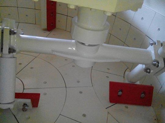 Cuchillas De Mezcla En La Mezcaldora Planetaria
