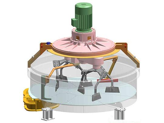 Estructura De Mezcladora Planetaria