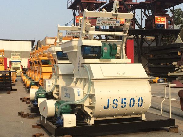 Hormigonera Eléctrica De JS500
