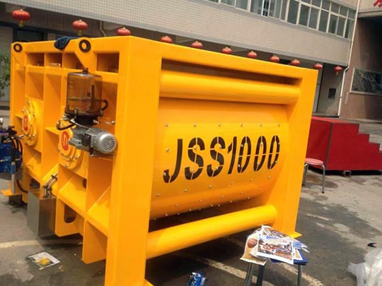Máquina Hormigonera Grande De JSS1000