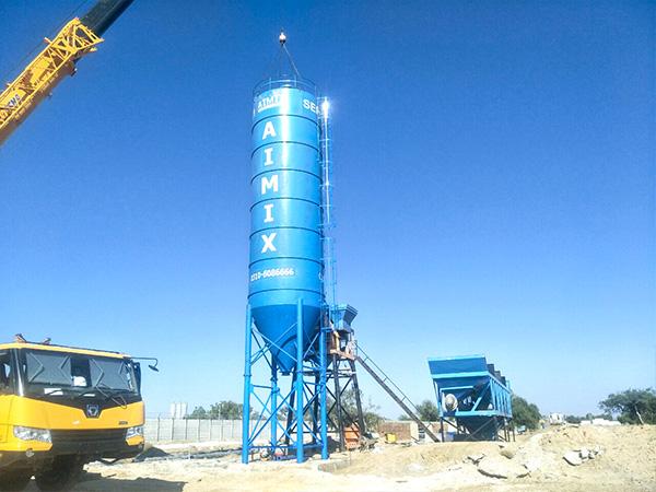 Instalación De La Planta De Concreto