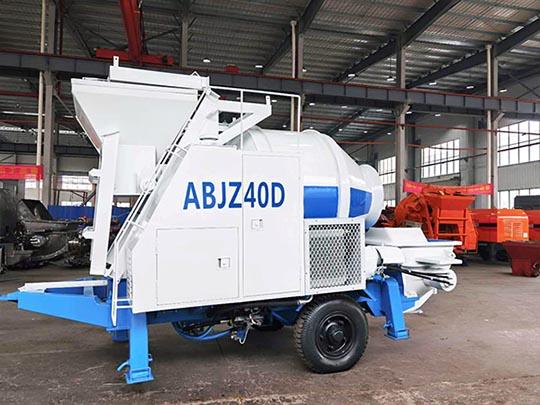 ABJZ40D Bomba Mezcladora De Concreto