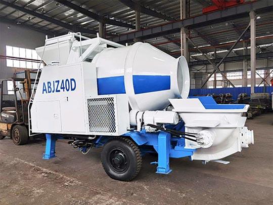 AIMIX Bomba Mezcladora De Concreto Exportada A Samarcanda