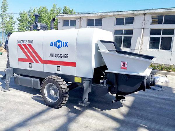 Exportación de AIMIX Bomba Estacionaria de Concreto