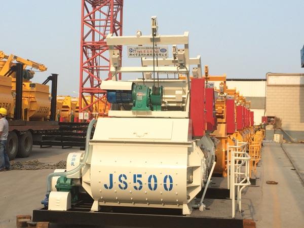JS500 Mezcladora De Concreto Obligatoria