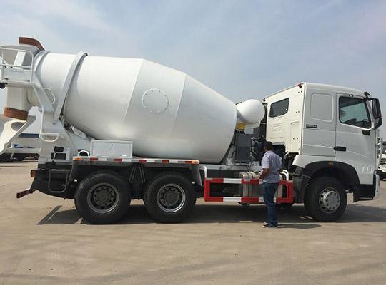10m3 Camión Mixer De Hormigón
