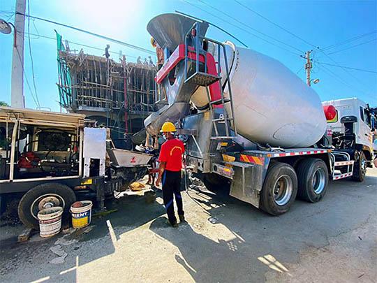 4m3 Camión Trompo De Concreto En Venta