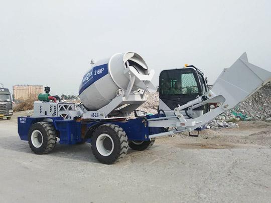 AIMIX Auto Hormigonera de 2.6m3