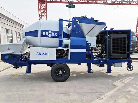 Venta de AIMIX Bomba Diesel de Concreto con Hormigonera