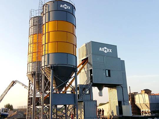 Planta de concreto tipo contenedor con alta calidad
