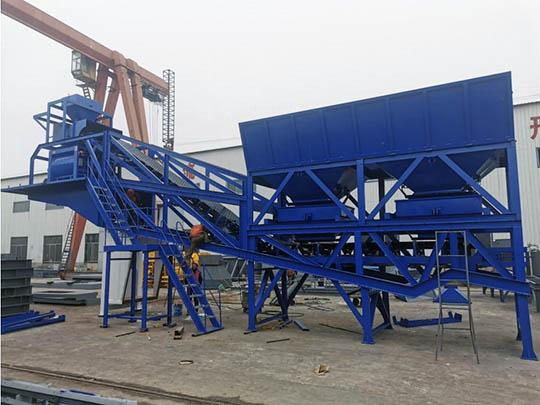 AIMIX AJY-50 Planta Concretera Móvil