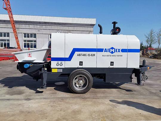 Bomba Diesel de Concreto Estacionaria en Venta