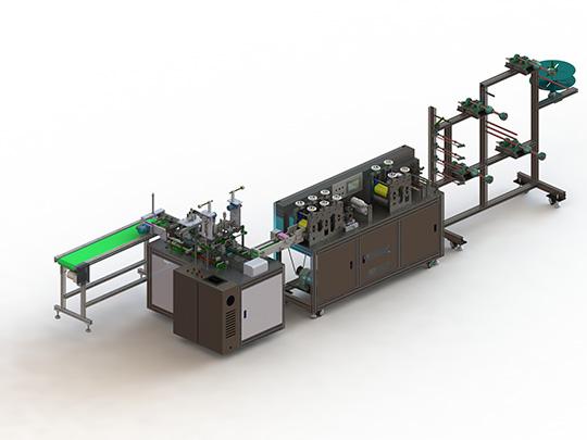 Línea de Máquina Automática para Hacer Cubrebocas